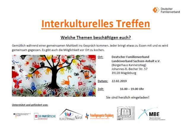 Interkulurelles Treffen